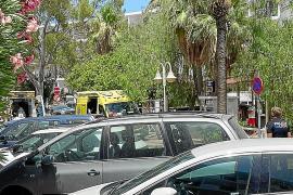 Detenido un turista tras protagonizar un violento episodio en la piscina de un hotel de Cala de Bou