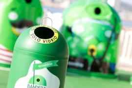 Formentera, líder en reciclaje de vidrio con 56,3 kilos por habitante