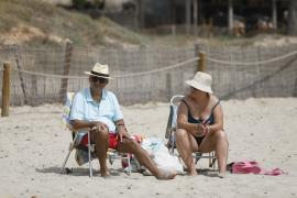 Ibiza y Formentera, en aviso naranja este lunes por temperaturas de hasta 39 grados