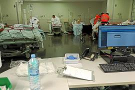 Las hospitalizaciones por COVID aumentaron un 42 % durante el fin de semana en Baleares