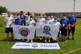 El arco ibicenco logra cuatro medallas en la Final de la Liga de Clubes