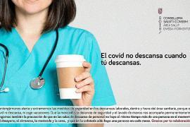 Campaña interna para frenar los contagios entre profesionales sanitarios