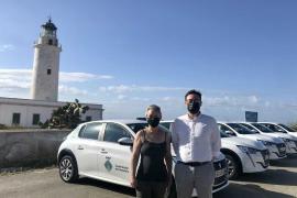Formentera incrementa su flota de vehículos eléctricos con ayuda del Govern