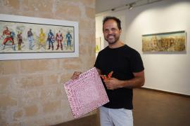 'Arte Plaff', una muestra de Ezequiel Herrera para plasmar la sociedad «de un modo verdadero»