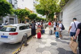 Este jueves comenzaron a trabajar los taxis estacionales de Ibiza