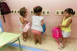 El 93,5 % de los alumnos de 3 años logra plaza en los centros de primera opción