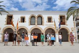 Claudia Lozano y Adrián Ballesteros, premios a la excelencia académica de Santa Eulària