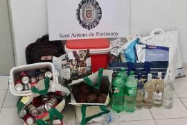 La Policía Local de Sant Antoni interpone 32 denuncias por venta ambulante
