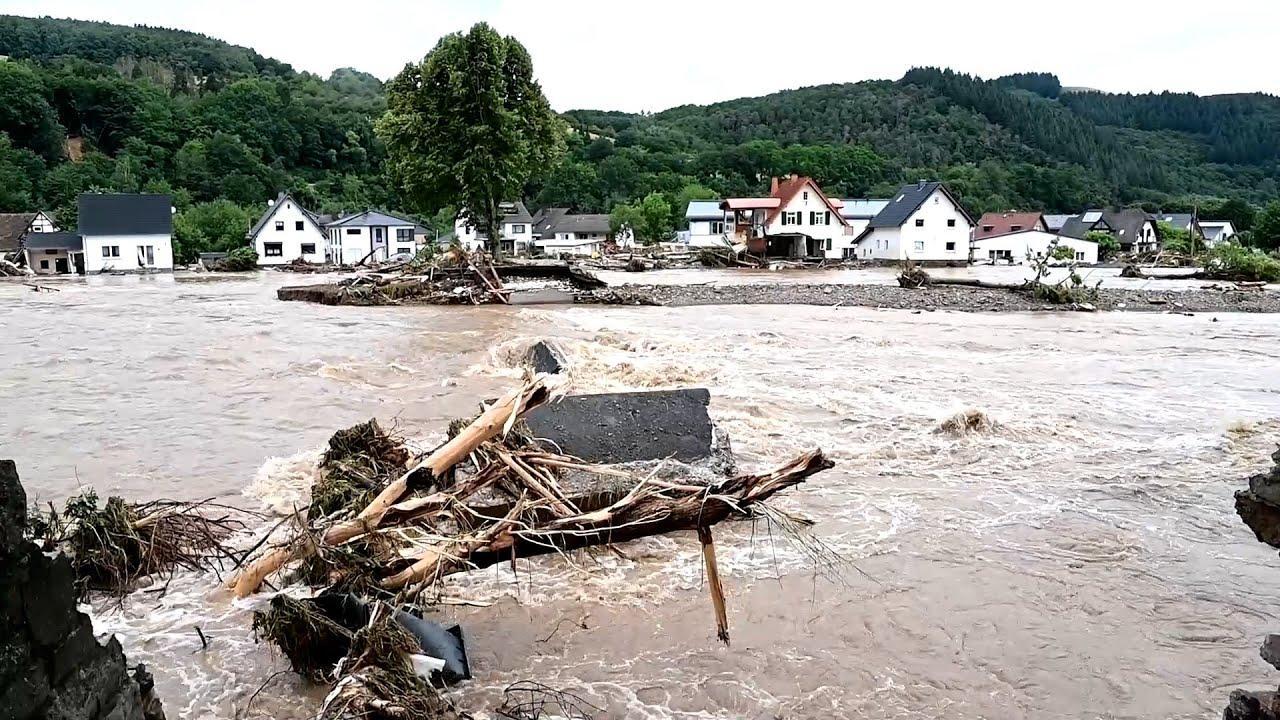 Ascienden a 80 los muertos a causa de las inundaciones y las fuertes lluvias en Alemania