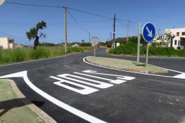 Sant Antoni finaliza las obras del proyecto de asfaltado en el municipio