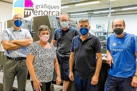 Gràfiques Menorca: una imprenta con identidad propia