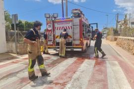 Detenida una mujer por incendiar la furgoneta y la vivienda de su expareja en Ibiza
