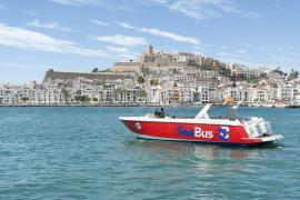 Seabus conecta los puertos de Ibiza y Santa Eulària