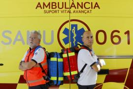 El 061 cumple 22 años salvando vidas, en imágenes.