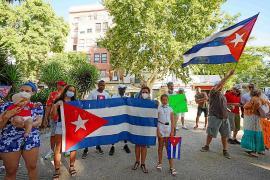 Concentración en Vara de Rey por la libertad de Cuba