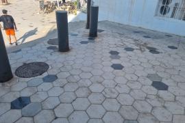 Aceras muy sucias y malolientes en Vila