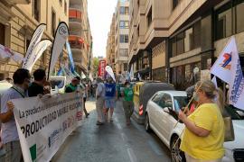 Protesta de los sanitarios por el plus COVID