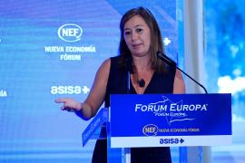 Armengol asevera que la reactivación económica en Baleares «es una realidad ya»