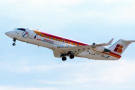 Air Nostrum recupera este viernes la ruta aérea entre Ibiza y Menorca