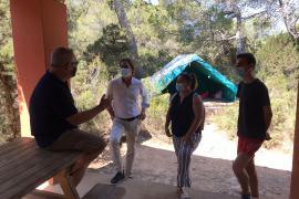 Más de 700 participantes disfrutan este verano del campamento de Cala Jondal