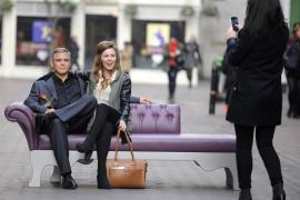 Un George Clooney de cera, regalo de San Valentín para las londinenses