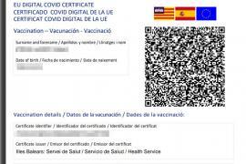Certificado COVID digital UE