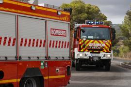 Nuevo incendio en el vertedero de Ca Na Putxa, en imágenes. (Fotos: Irene Arango)