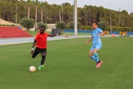 Buena imagen de la UD Ibiza contra el Mallorca pese a la derrota