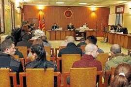 Tres acusados de la 'operación Dragone', a punto de ingresar en prisión por llegar tarde