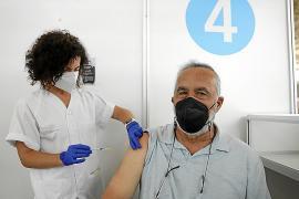 Y por fin Diego pudo elegir vacuna