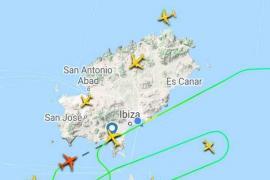 La presencia de un dron genera problemas en el aeropuerto de Ibiza