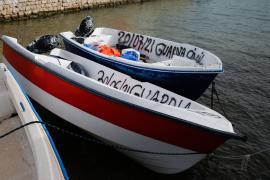Investigan a los dos tripulantes del 'taxi patera' interceptado en Formentera