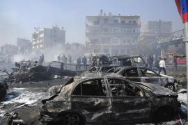Más de 60 muertos y 200 heridos en un atentado con coche bomba en Damasco