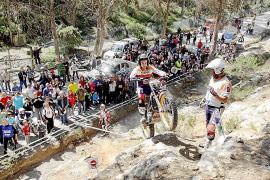 Cuenta atrás para el espectáculo del trial en Eivissa