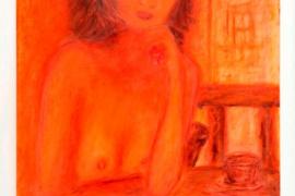 Margarita Yarmats expone en Eivissa  una muestra de pinturas y poemas