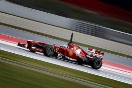 Grosjean es el más rápido mientras Alonso conduce a ritmo de carrera