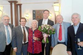 Gran fiesta de aniversario de Sepp y Elfi Egger