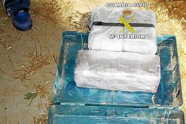 Detenido un marroquí que escondía diez kilos de hachís en un pajar de Formentera