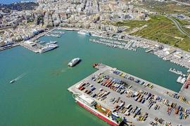 El puerto de Eivissa arranca el año con una caída del 18% en pasaje y del 24% en carga