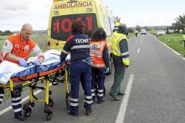 Muere un ciclista al que un golpe de viento arrojó contra un todoterreno en Campos