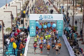 El Santa Eulària Ibiza Marathon sólo celebrará la prueba reina este año