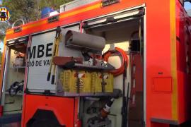 Muere un menor de 6 años en el incendio de una casa en Valencia con plantaciones de marihuana