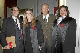 Acto de jura de nuevos letrados en el Colegio de Abogados de Balears