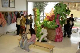 Sant Jordi de estudiantes