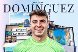 Álex Domínguez, nuevo portero de la UD Ibiza.