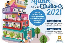 Vila abre el plazo de solicitud de las ayudas de estudiantes de enseñanzas superiores