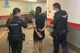 Diez detenidos por varios hurtos en la Playa de Palma