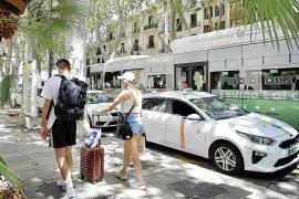 Los ayuntamientos amplían las jornadas de los taxistas ante la gran demanda turística