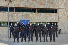 La comisaría de la Policía Nacional de Ibiza se refuerza con 16 agentes en prácticas y un inspector