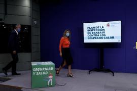Yolanda Díaz, encuentro con los aliados parlamentarios con los PGE de fondo